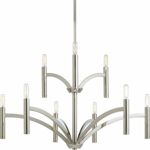 Manasi 9-Light Candle-Style Chandelier
