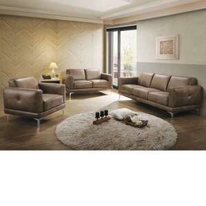 Burton 3 Piece Living Room Set by Trent Aust..