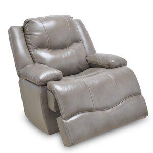 carlinville leather rocker recliner - Leather Rocker Recliner