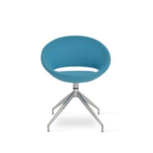 Crescent 4-Star Swivel Papasan Chair