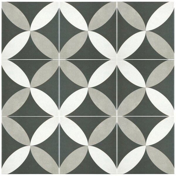 black and white floor tile modern floor tile allmodern 29923