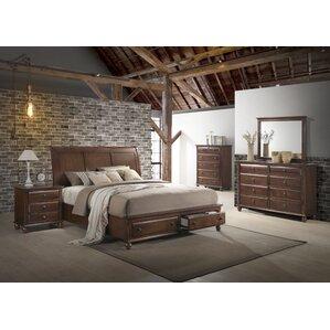 Lehigh Platform 5 Piece Bedroom Set
