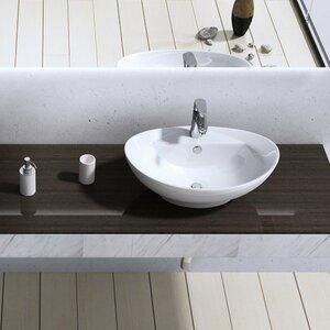 Belfry Bathroom 59 cm Aufsatz-Waschbecken Brüssel