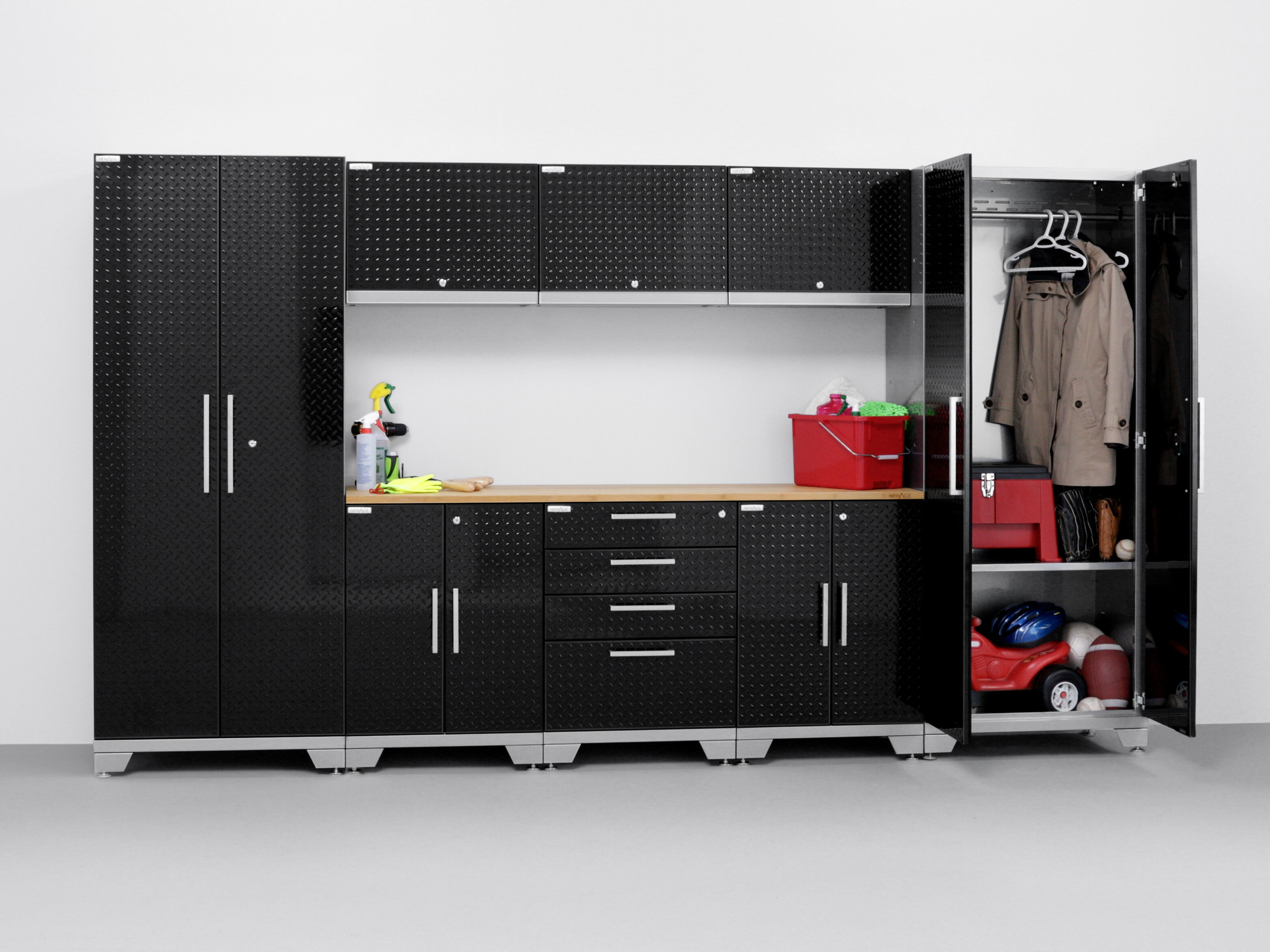 NewAge Products Performance 2.0 Series 10 Piece Storage Cabinet