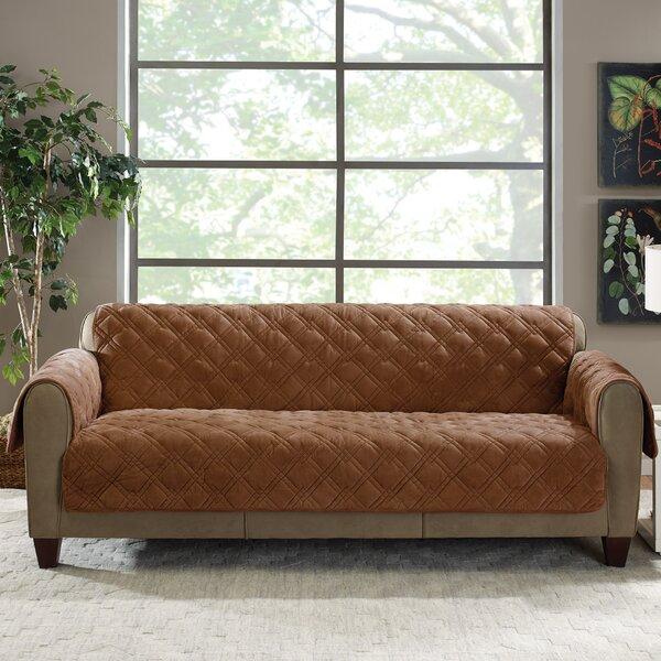 sure fit plush comfort sofa slipcover reviews wayfair - Slipcover Sofa