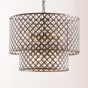 Modern contemporary extra large drum chandelier allmodern maribel 8 light drum chandelier aloadofball Gallery