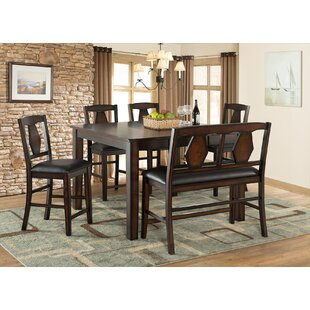 Tuscan Hills 6 Piece Extendable Dining Set