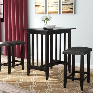 Richland 3 Piece Counter Height Pub Table Set
