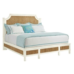 Resort Water Meadow Woven Platform Bed by Stanley Furniture