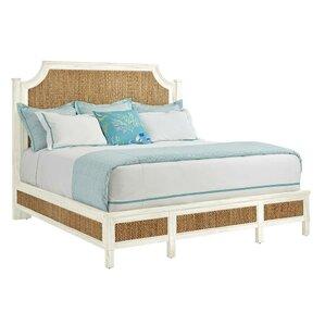 Resort Water Meadow Woven Platform Bed..