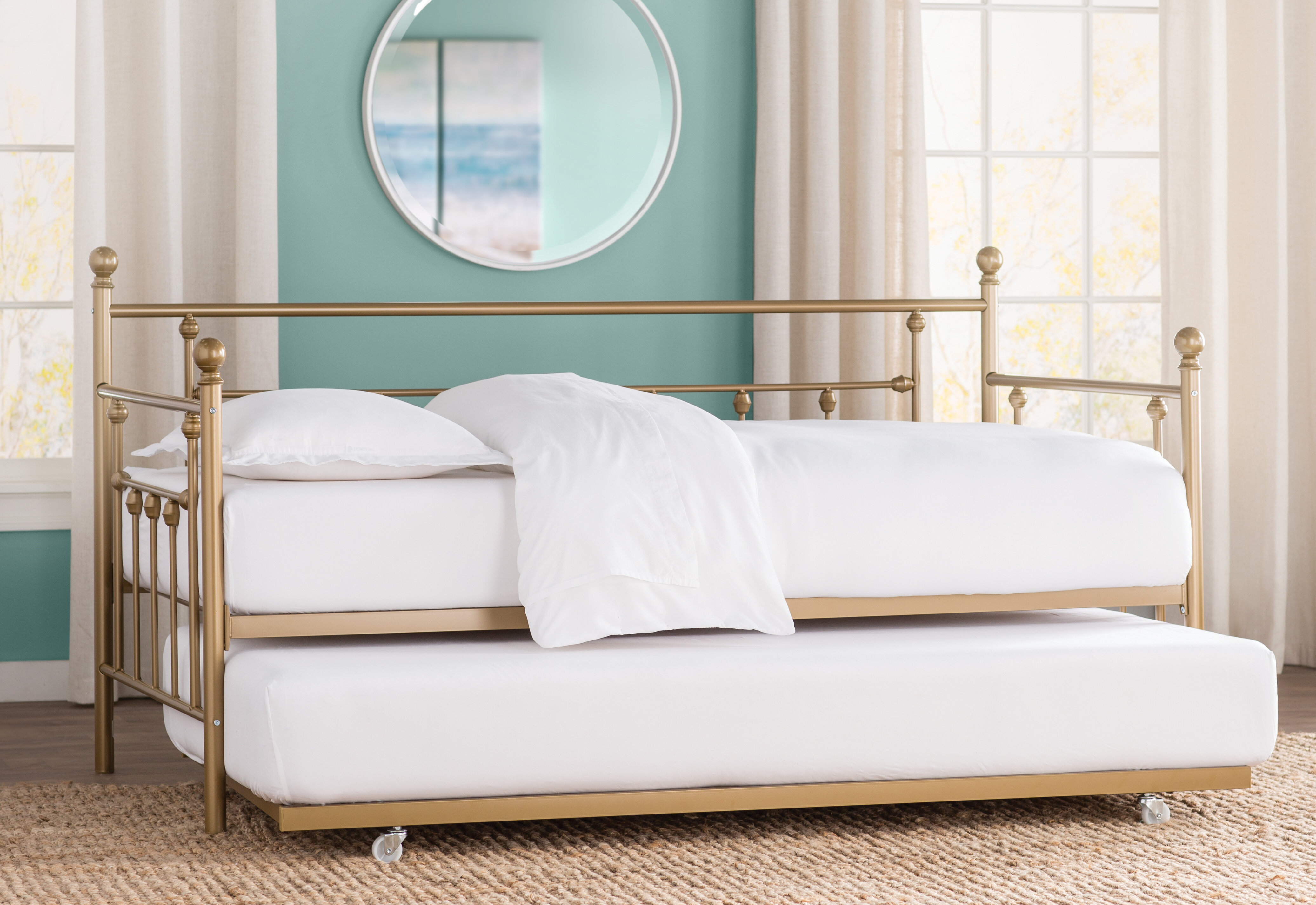 Trundle Bed.Ione Daybed With Trundle