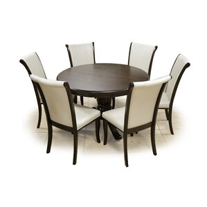 Damia 7 Piece Dining Set by Darby Home Co