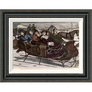 'Christmas Belles' Framed Painting Print