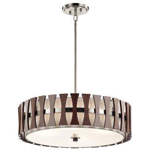 Cirus 4 Light Drum Pendant