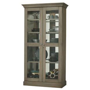 Broaddus Lighted Curio Cabinet