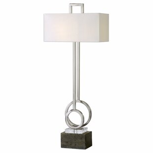Parkhill Brushed Nickel 16 Table Lamp