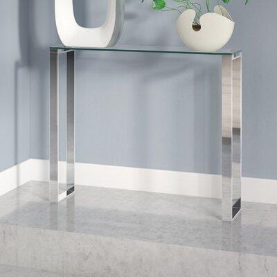 Orren Ellis Irina Narrow Console Table Size: 30 H x 36 W x 8 D