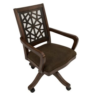 Ayer Caster Arm Chair by World Menagerie