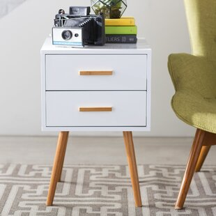 Mid Century Modern End Side Tables