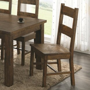 Weise Armless Wooden Dining Chair (Set Of 2) 2019 Sale