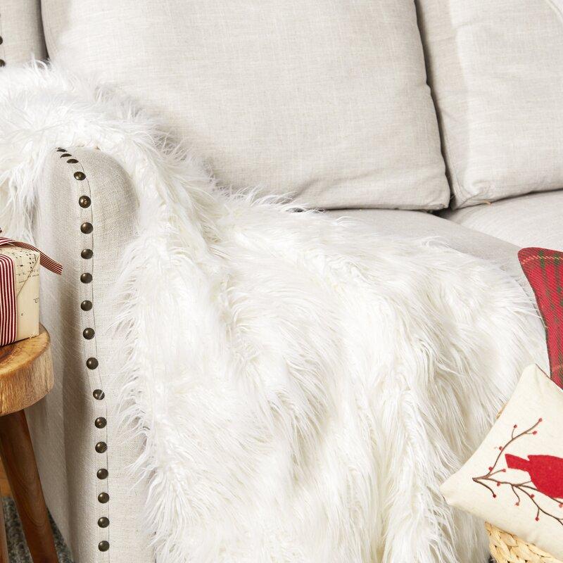 Tache Home Fashion Lion Pile Faux Fur Throw Blanket Reviews Wayfair Adorable Lion Blanket Or Throw