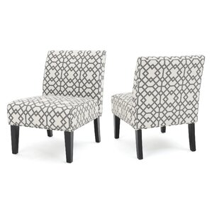 Veranda Slipper Accent Chair (Set Of 2)