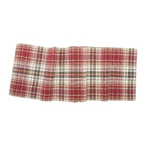 Jenine Plaid Table Runner