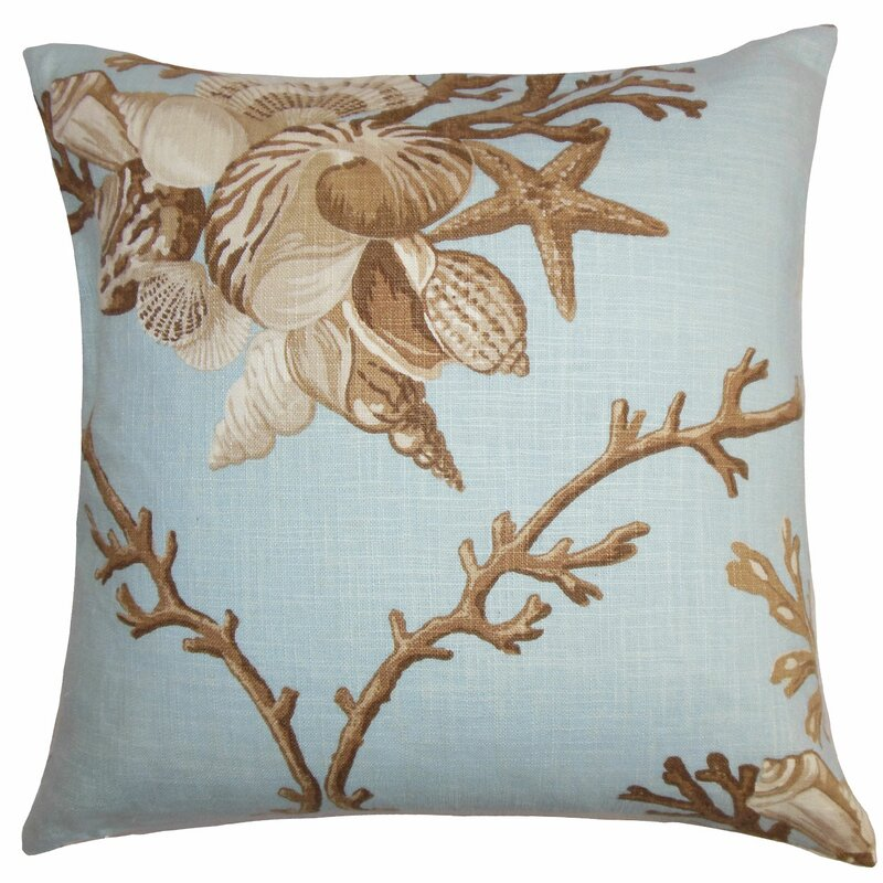 The Pillow Collection Maj Coastal Throw Pillow Cover Wayfair Amazing Coastal Throw Pillow Covers