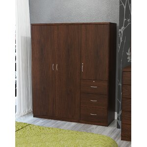 Randolf 3 Door Armoire by Latitude Run