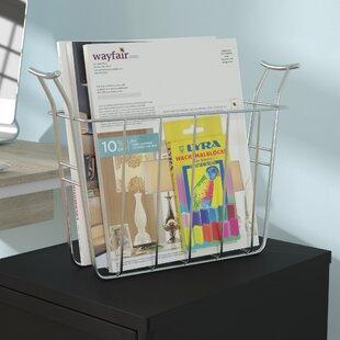 basket magazine rack - Bathroom Magazine Rack