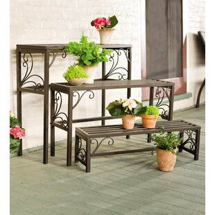 Rectangle 3 Piece Plant Stand Set