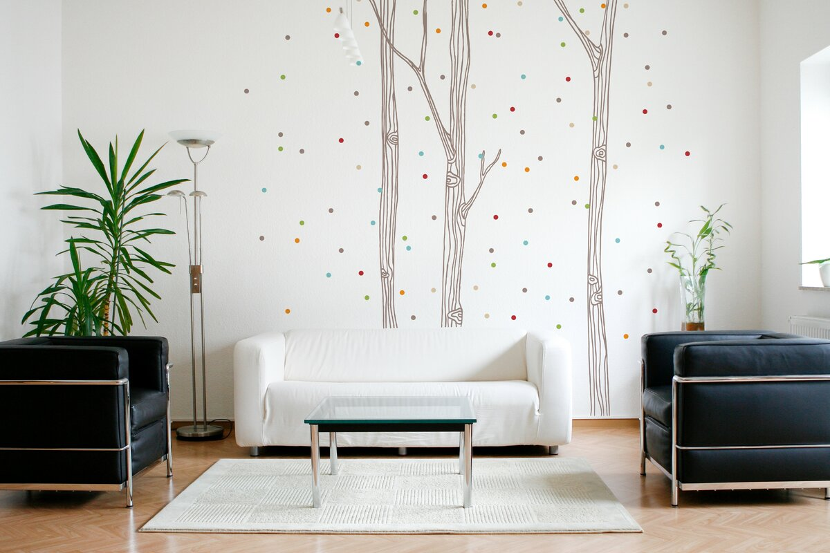 adzif xxl confetti wall decal reviews. Black Bedroom Furniture Sets. Home Design Ideas