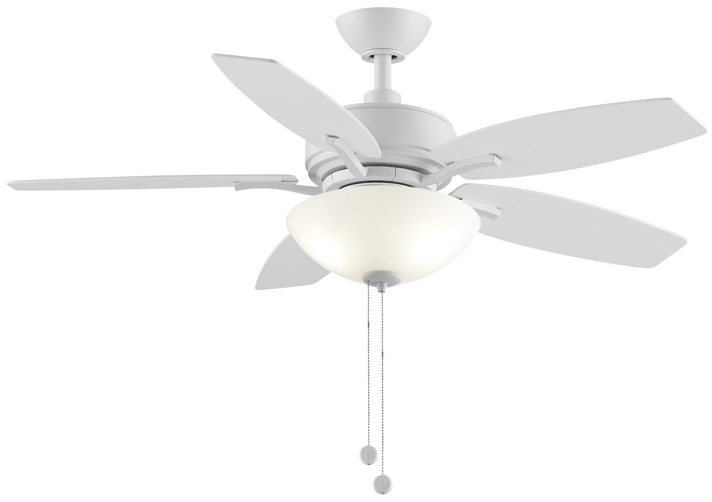 "Fanimation 44"" Aire Deluxe 5 Blade Ceiling Fan & Reviews"