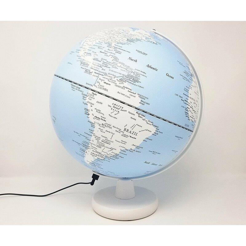 Illuminated Desk Globe