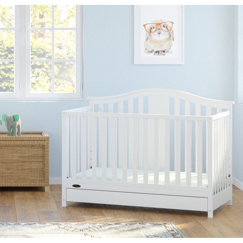 Solano 4 In 1 Convertible Crib With Drawer