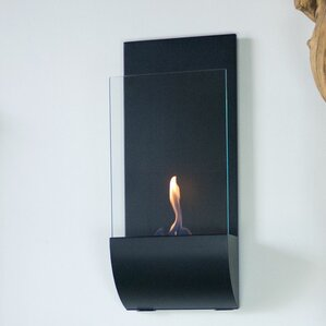 Torcia Wall Mount Bio-Ethanol Fireplace by Nu-Flame