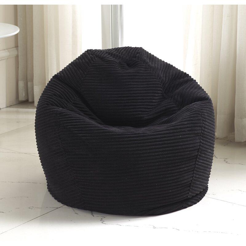 Zipcode Design Medium Polystyrene Bean Bag Chair Amp Reviews