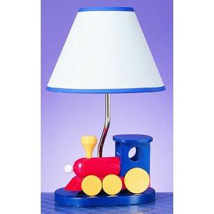 Thomas the train lamp wayfair giddens train 15 table lamp aloadofball Gallery