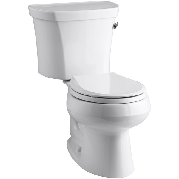 Kohler Wellworth Two-Piece Round-Front 1.28 GPF Toilet
