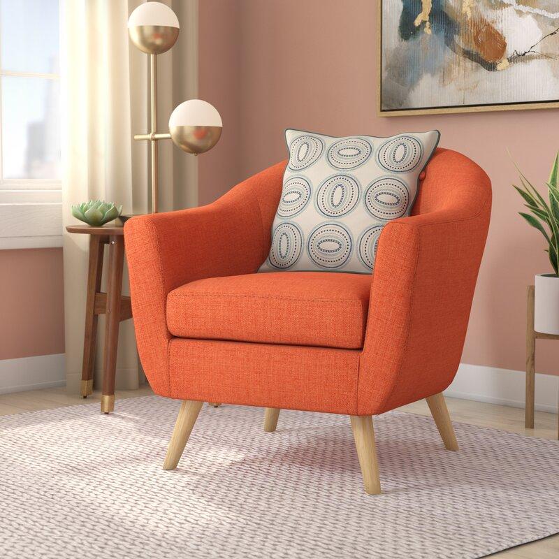 Langley Street Henley Barrel Chair & Reviews   Wayfair
