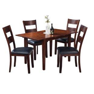 Assante Modern 5 Piece Solid Wood Dining Set