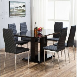 Seater Dining Table Sets Wayfaircouk - Wooden dining room table with 6 chairs