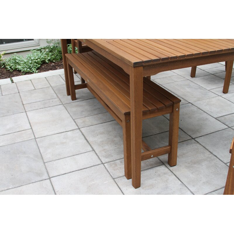 Pleasing Tovar Bench 3 Piece Dining Set Gmtry Best Dining Table And Chair Ideas Images Gmtryco