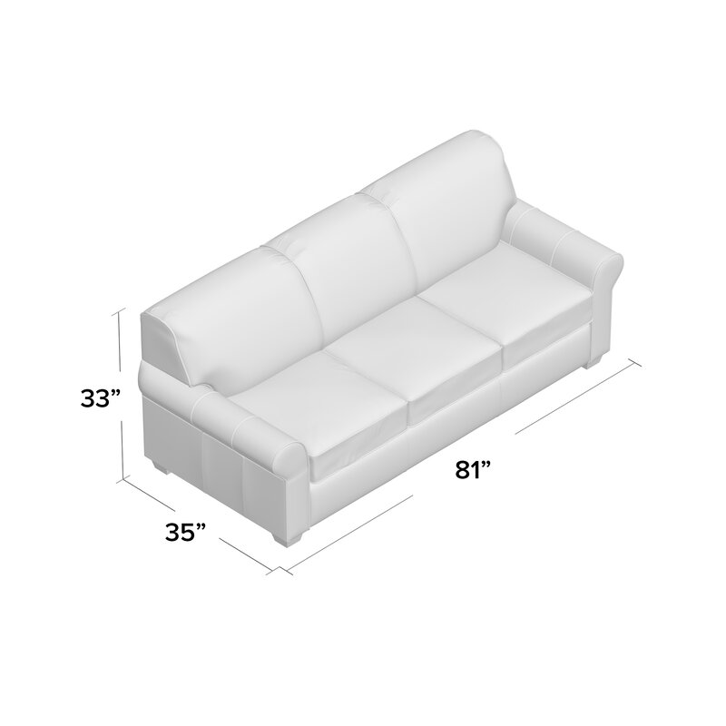 Beau Jennifer Genuine Leather Sofa