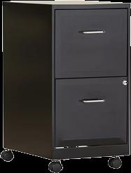 Black Filing Cabinets