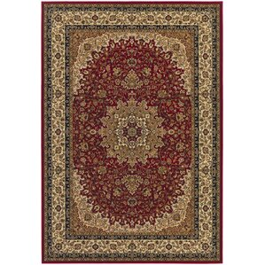 Belcourt Royal Kashan Red Brown Area Rug