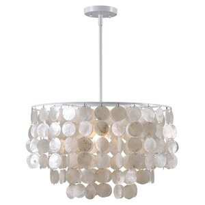 Delmon 1-Light Drum Pendant