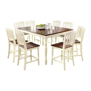 Laureaus 9 Piece Extendable Dining Set