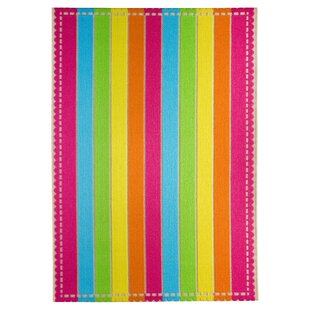 Samba Woven Pink/Yellow/Blue Rug by Luxor Living