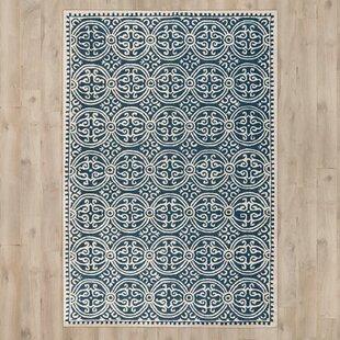 Teppiche In Blau Material 100 Wolle Zum Verlieben Wayfair De